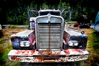 Sandon Ghost town abandoned truck